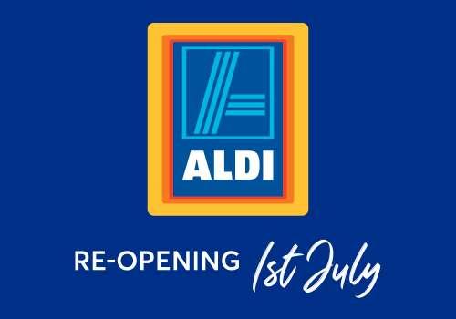 New look ALDI now open