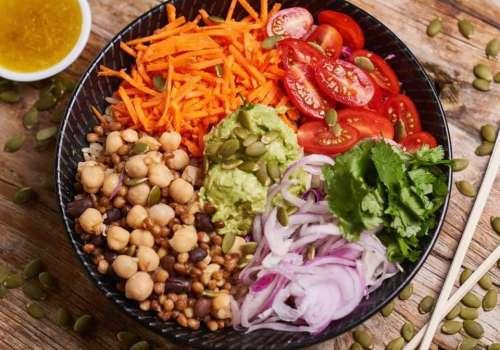 Try the new Yogi Vegan Bowl from Momo Bar